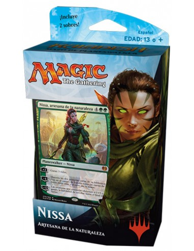 Planeswalker Deck Nissa Nature's Artisan - Kaladesh Mazo Magic the Gathering