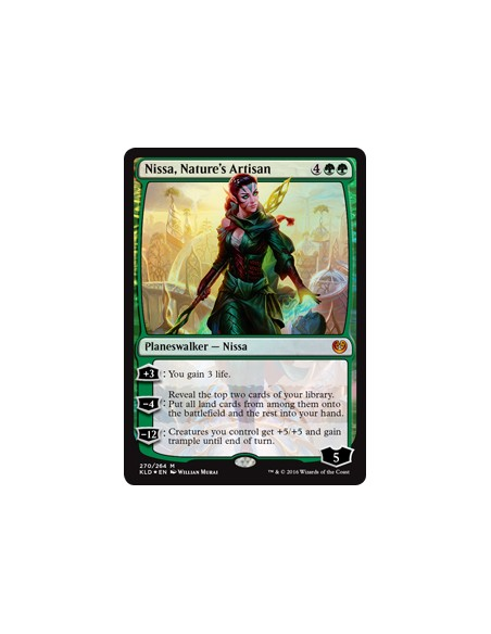 Nissa Nature's Artisan - Kaladesh Magic the Gathering