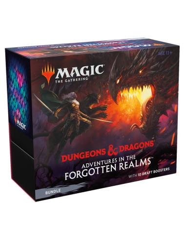 Preventa MTG BUNDLE: Dungeons & Dragons Adventures in the Forgotten Realms - Inglés