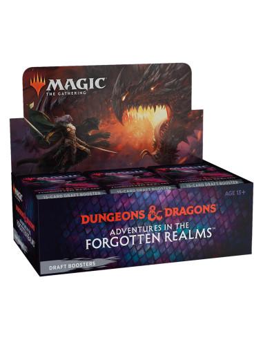 Preventa MTG Caja de sobres de Draft: Dungeons & Dragons Adventures in the Forgotten Realms (Inglés) - Promo Buy a Box
