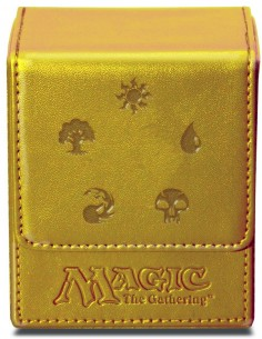Ultra-Pro Mana Flip Box Dorado (Magic The Gathering)