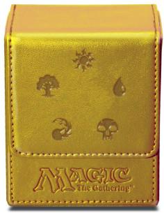 Ultra-Pro Mana Flip Box Dorado (Magic The Gathering)