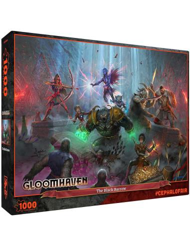 Gloomhaven: The Black Barrow Puzzle1000