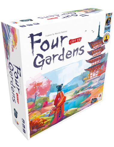 Juego de mesa Four Gardens en Chile