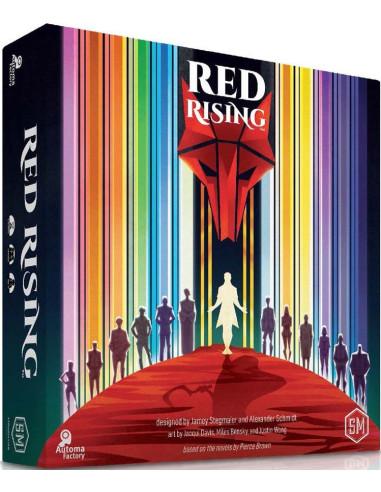 Imagen de la caja del juego de mesa Red Rising (Standard Edition)