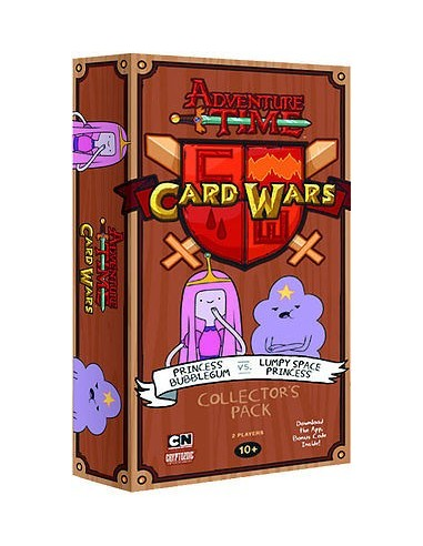 Mazo de Colección Princess Bubblegum vs Lumpy Space Princess - Adventure Time: Card Wars (Juego de cartas)