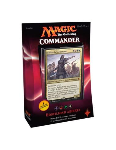 Commander 2016 Mazo Hostilidad Abierta - Magic the Gathering