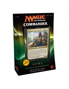 Commander 2016 Mazo Alianza Incondicional - Magic the Gathering