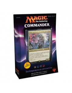 Commander 2016 Mazo Superioridad Inventiva - Magic the Gathering