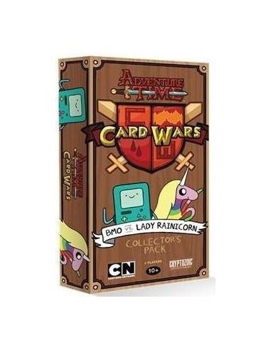 Mazo de Colección BMO vs Lady Rainicorn - Adventure Time: Card Wars (Juego de cartas)