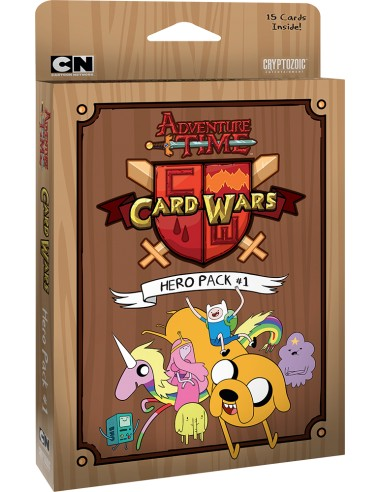Hero´s Pack 1 - Adventure Time: Card Wars (Juego de cartas)