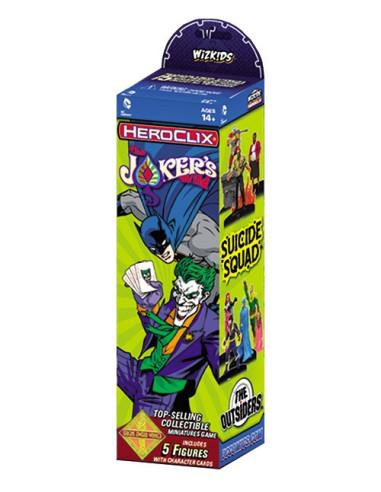 Dc Comics Heroclix: Jokers Wild Booster