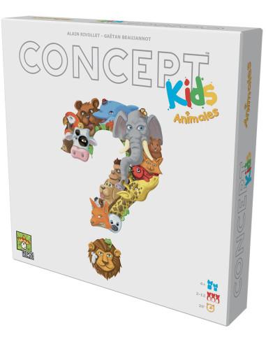 Imagen de la caja del juego de mesa Concept Kids: Animales