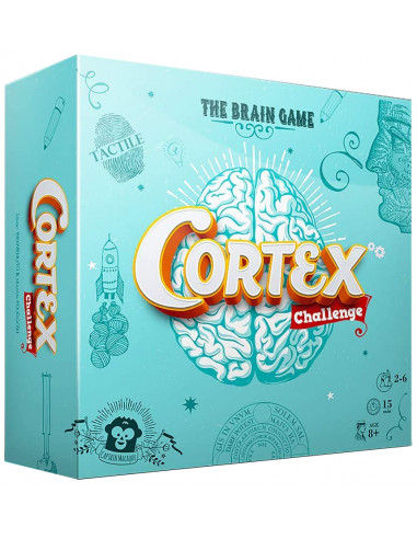 Imagen de la caja del juego de mesa Cortex Challenge