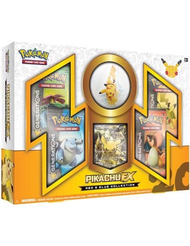 Pokémon TCG: Red & Blue Collection - Pikachu-EX