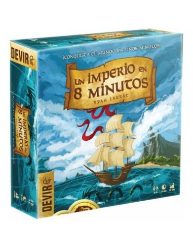 Un Imperio en 8 Minutos - Juego de Mesa
