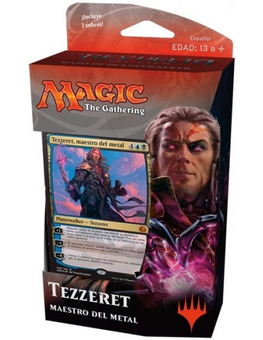 Planeswalker Deck Tezzeret Master of Metal - Aether Revolt Mazo Magic the Gathering