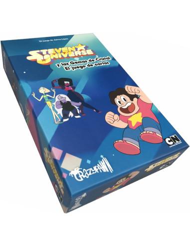 Imagen de la caja de el juego de mesa Steven Universe y las Gemas de Cristal