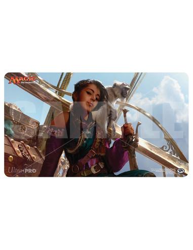 Playmat Magic Aether Revolt - Kari Zev, Skyship Raider
