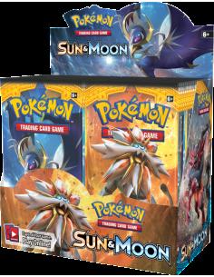 Sun&Moon Caja de Sobres - Pokemon en Ingles
