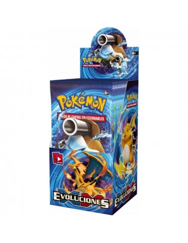 XY12 Evolutions Caja de Sobres (18) Español - Pokemon