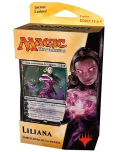 Planeswalker Deck Liliana Sometedora de la Muerte - Amonkhet Mazo Magic the Gathering