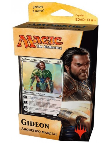 Planeswalker Deck Gideon Arquetipo Marcial - Amonkhet Mazo Magic the Gathering