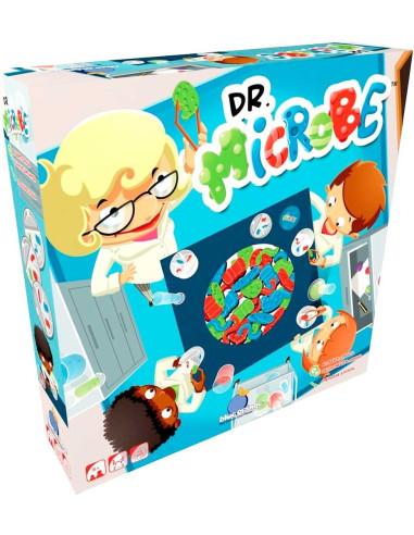 Dr. Microbe Imagen de la caja del juego de mesa