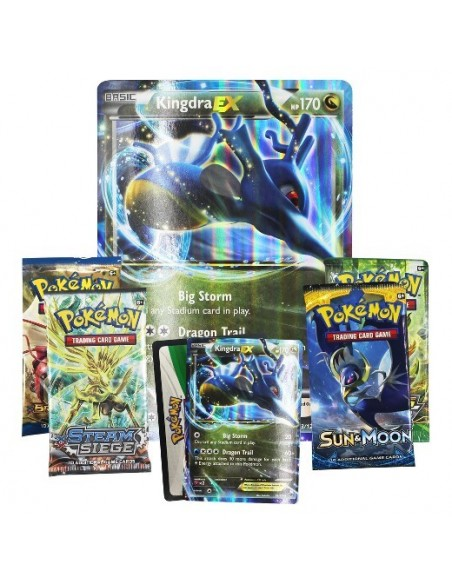 Pokemon TCG: Kingdra EX Box