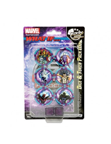 Marvel HeroClix: 15th Anniversary What If? Dice & Token Pack