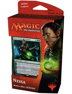 Planeswalker Deck Nissa Genesis Mage - Hour of Devastation Mazo Magic the Gathering