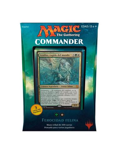 Commander 2017 Mazo Ferocidad Felina - Magic the Gathering