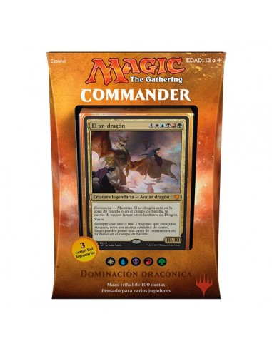 Commander 2017 Mazo Dominación Dracónica - Magic the Gathering