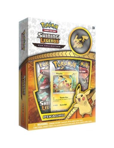 Pokemon Shining Legends Pin Collections Pikachu