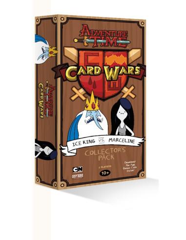 Mazo de Colección Ice King vs Marceline - Adventure Time: Card Wars (Juego de cartas)