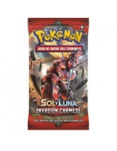 Sun&Moon Crimson Invasion Booster - Pokemon en Ingles