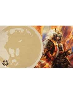 Playmat L5R - Right Hand of the Emperor (Lion)