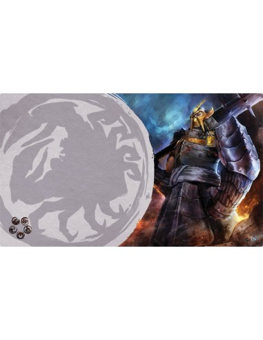 Playmat L5R - Defender of the Wall (Crab)