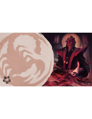 Playmat L5R - Master of Secrets (Scorpion)