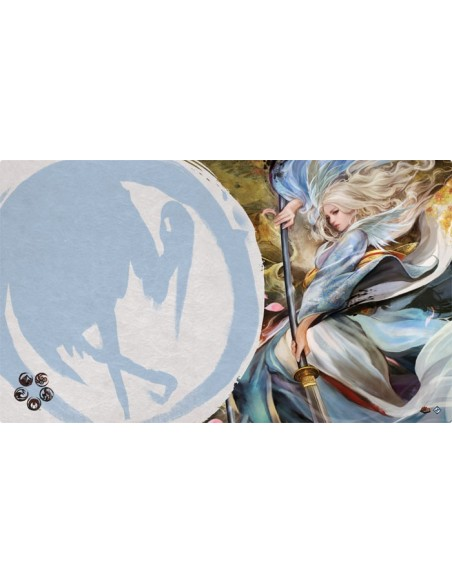Playmat L5R - Left Hand of the Emperor (Crane)