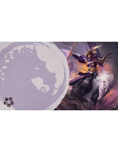 Playmat L5R - Mistress of the Five Winds (Unicorn)
