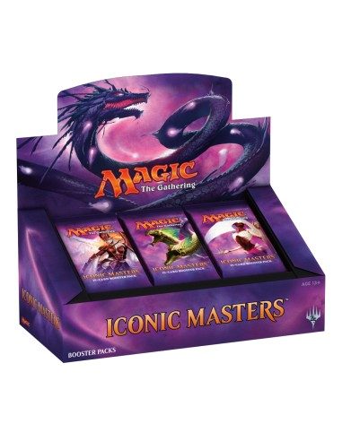 Iconic Masters Caja de 24 sobres