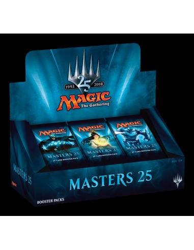 Preventa Masters 25th Caja de 24 sobres