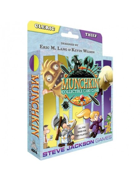 Munchkin Collectible Card Game - Cleric & Thief Starter Set