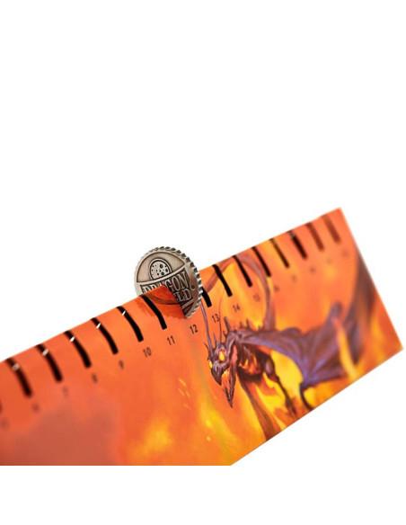 Playmat Dragon Shield Anaranjado - Usaqin - Estuche