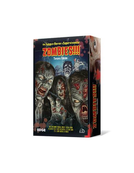 Zombies Tercera Edicion - Juego de Mesa - Magicsur