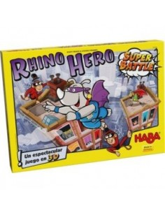 Rhino Hero -  Super Battle - Juego de Mesa - Magicsur