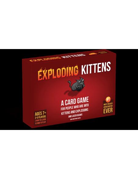 Exploding Kittens- Español -  Juego de Cartas - Magicsur