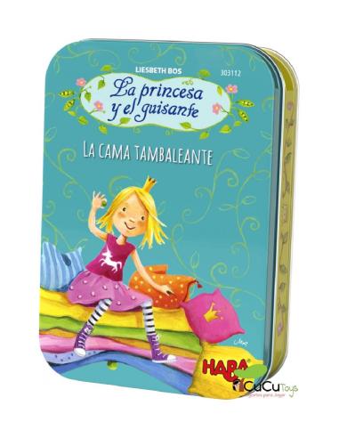 La Princesa y el Guisante, la Cama Tambaleante-  Juego de Cartas - Magicsu