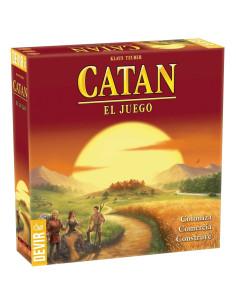 Colonos de Catan juego de tablero en Chile